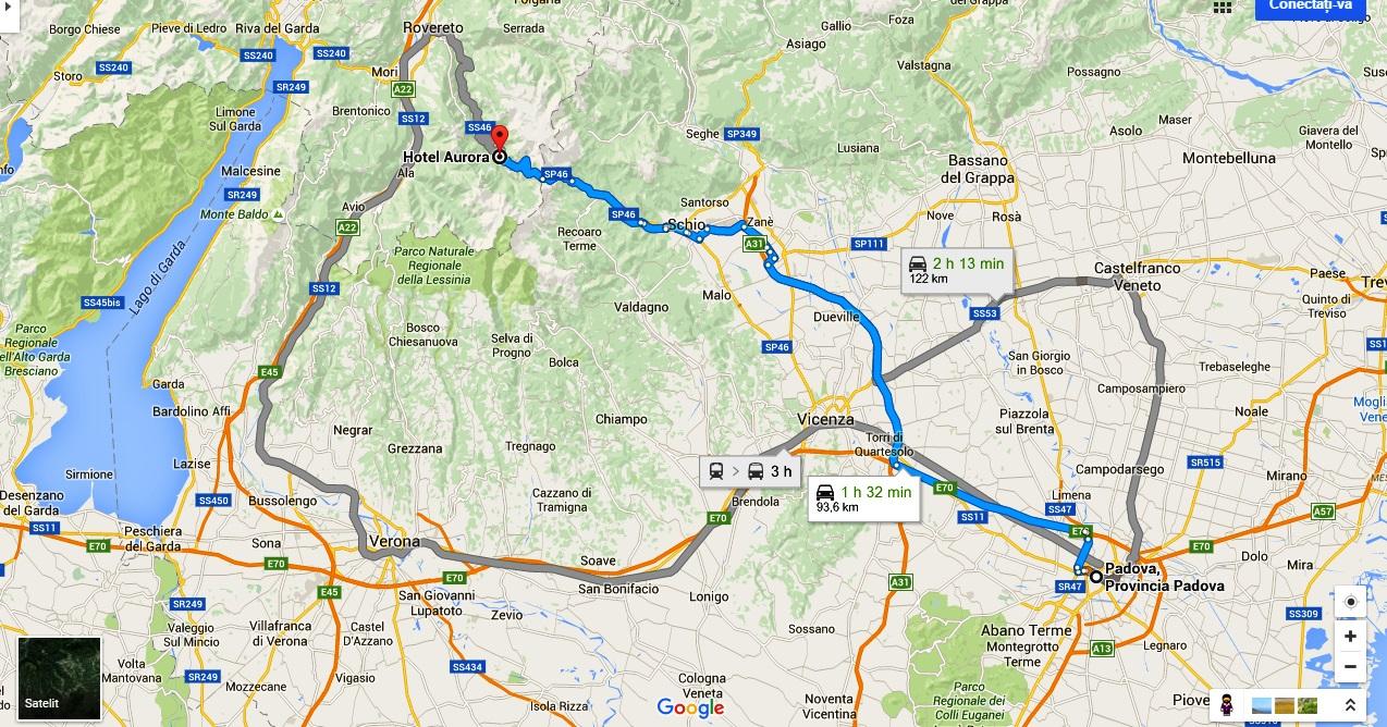 Map Padova-Vallarsa JPEG
