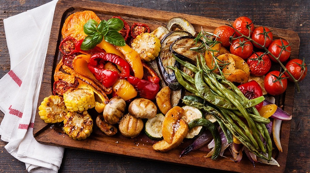 VEGGIE GRILLS & HEALTHY BARBECUES