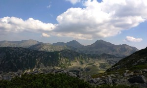 Panorama din Şaua Lolaia