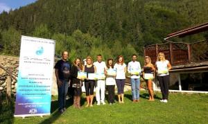 La primirea Certificatelor Detox & Refresh
